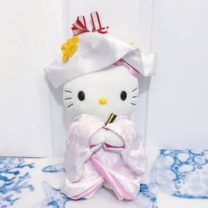 🐱👰🏻 Hello Kitty Japanese Wedding Plush